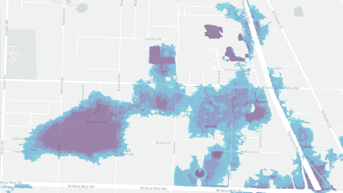 Escambia Neighborhood Shows How FEMA's Maps Are Wrong